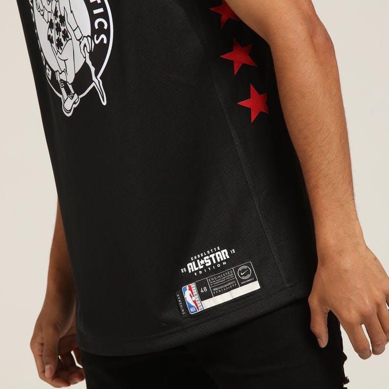 buy popular 95070 b1f0a Nike All Star Weekend Boston Celtics Kyrie Irving  11 Swingman NBA Jersey  19  Black