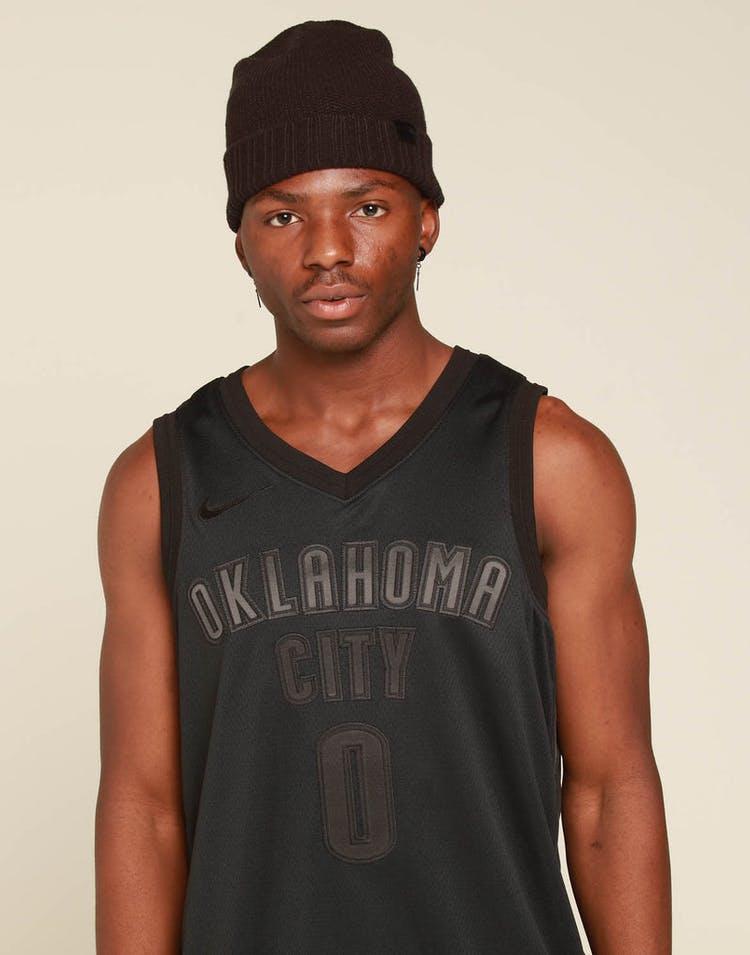 quality design 04e01 a89fd Nike Oklahoma City Thunder Russell Westbrook MVP Swingman Black