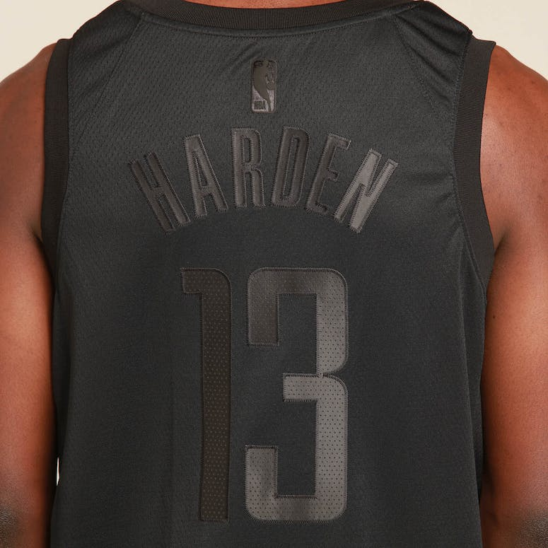 the best attitude 84d15 38ac4 Nike Houston Rockets James Harden MVP Swingman Black