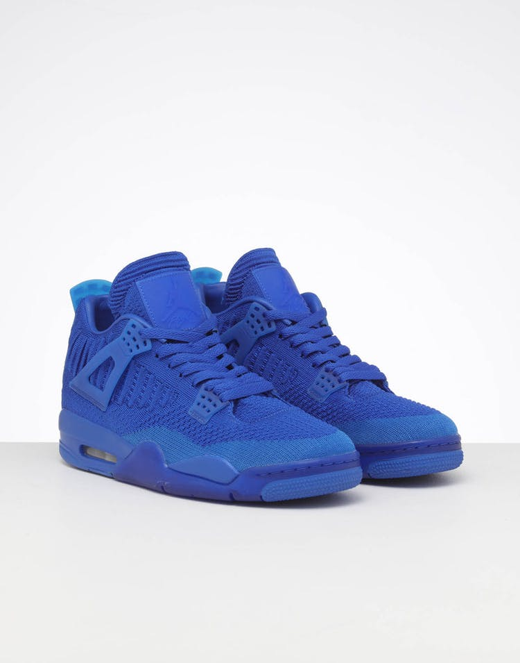 free shipping fefe4 84d0a Jordan Air Jordan 4 Retro Flyknit Royal/Black