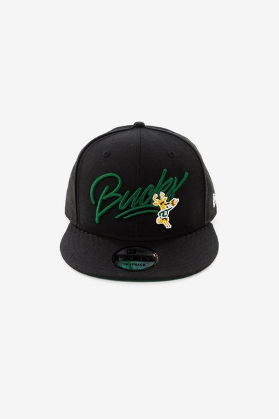 New Era Milwaukee Bucks 950 Snapback Black