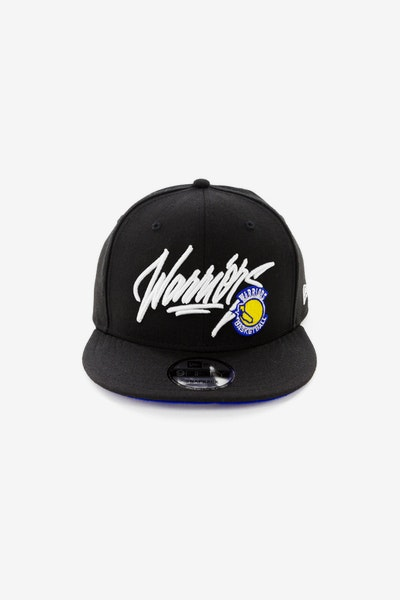 New Era Golden State Warriors 950 Snapback Black