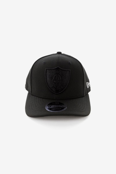 New Era Raiders 950 Original Fit Precurve Snapback Black