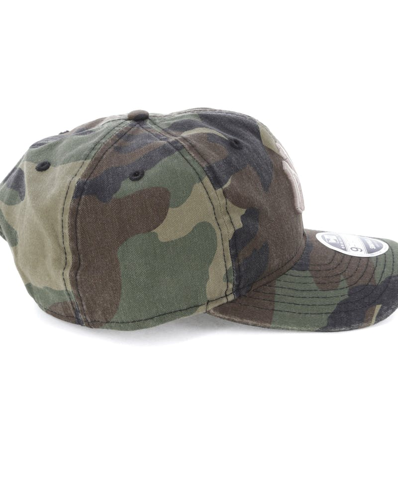 New Era New York Yankees 9FIFTY Original Fit Snapback Woodland Camo