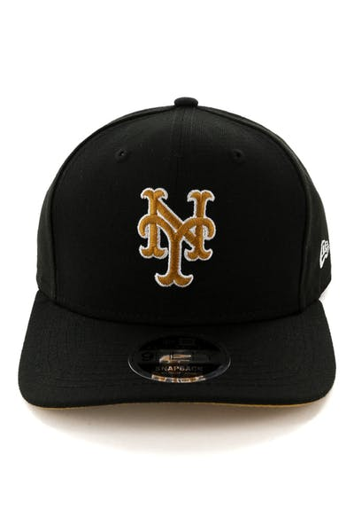 quality design 71d30 6208e New Era New York Mets 9FIFTY Original Fit Snapback Black ...