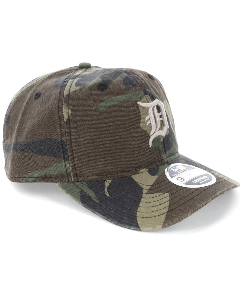 New Era Detroit Tigers 9FIFTY Original Fit Snapback Woodland Camo