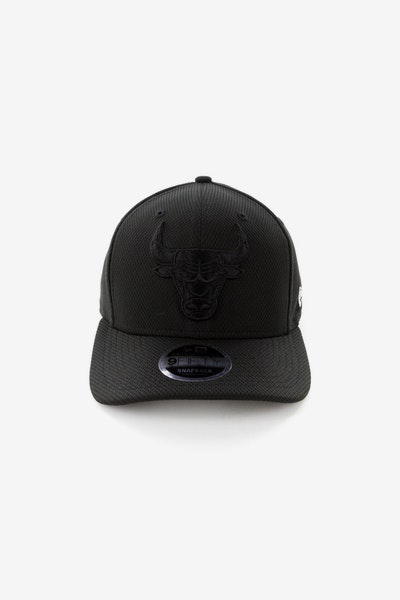New Era Chicago Bulls 950 Original Fit Precurve Snapback Black