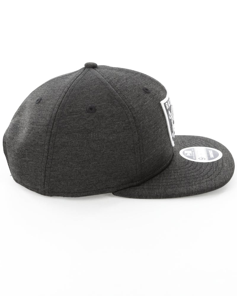 New Era Raiders 9FIFTY Original Fit Snapback Black
