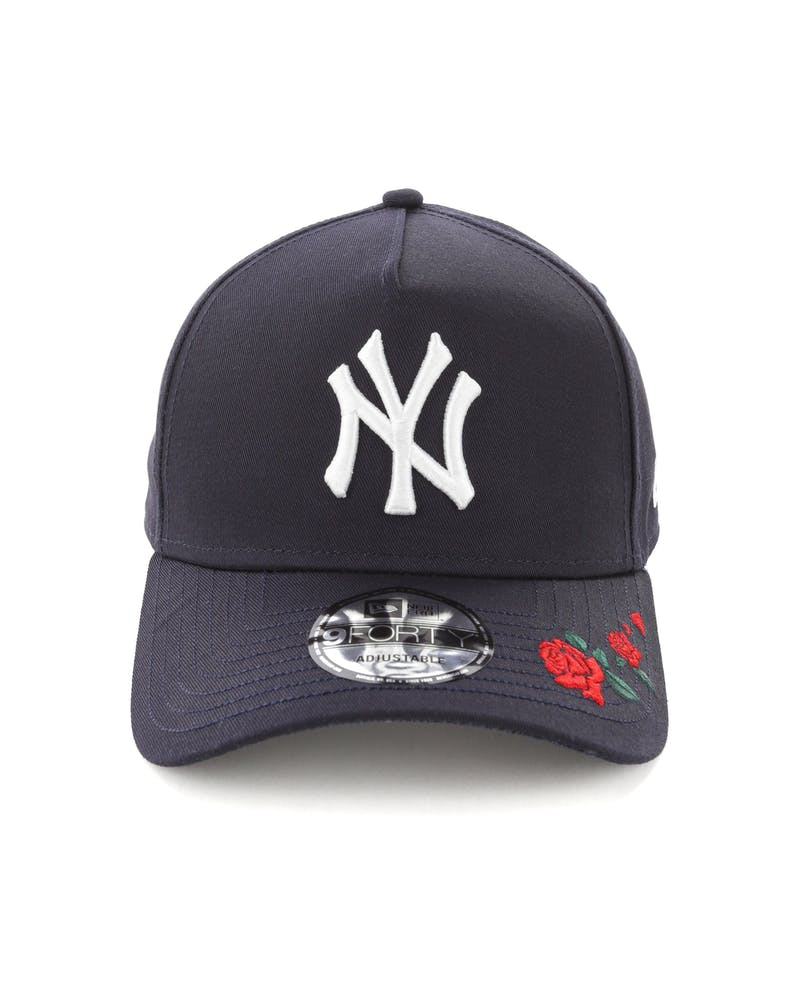New Era New York Yankees 9FORTY A-Frame Snapback Navy