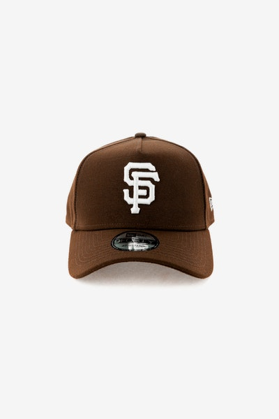 New Era San Francisco Giants 940 A-Frame Snapback Chocolate