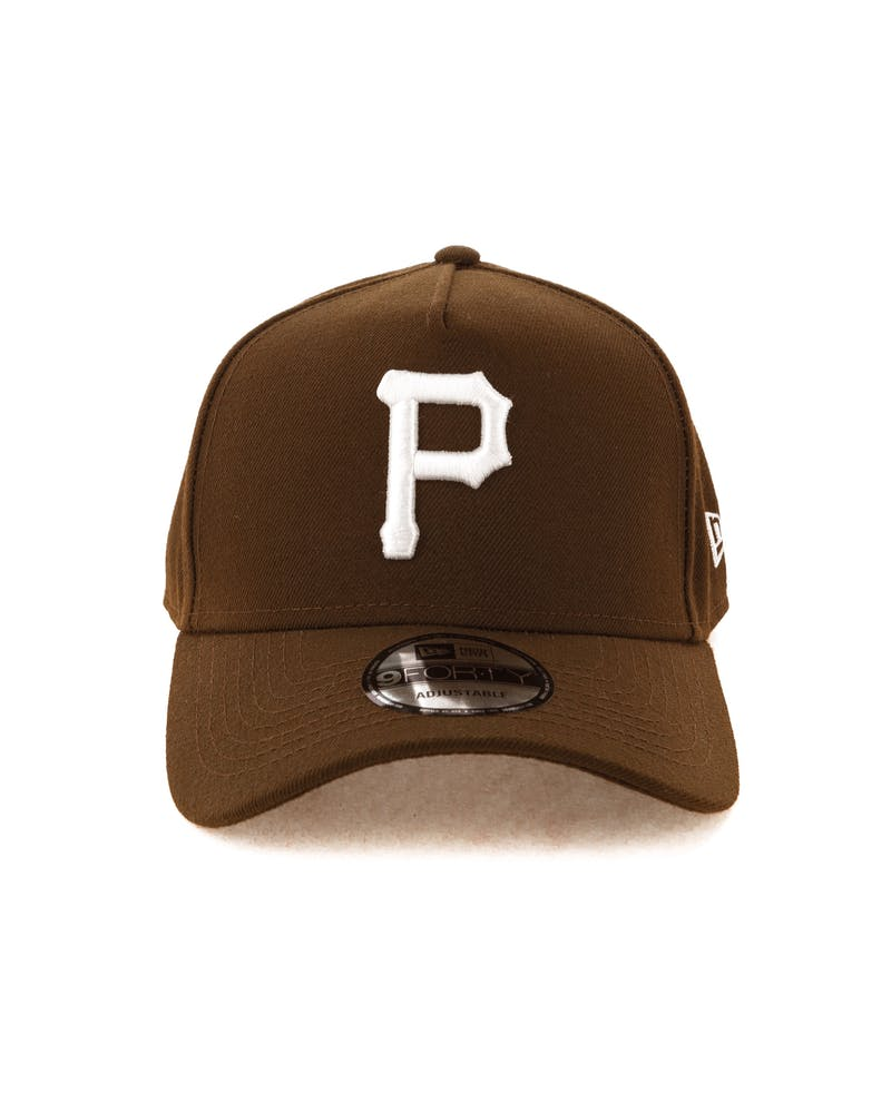 New Era Pittsburgh Pirates 9FORTY A-Frame Snapback Chocolate