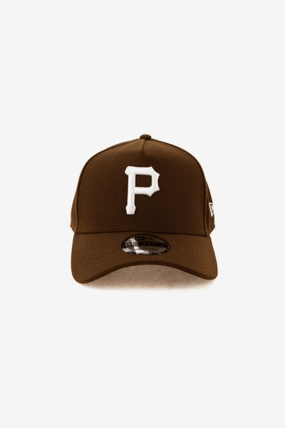 New Era Pittsburgh Pirates 940 A-Frame Snapback Chocolate