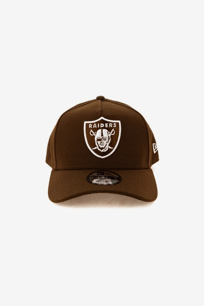 New Era Raiders 940 A-Frame Snapback Chocolate