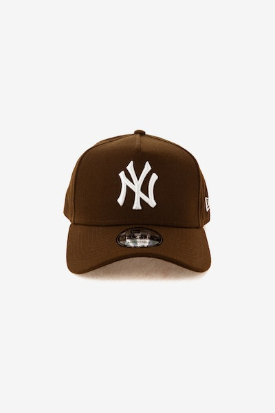 New Era New York Yankees 940 A-Frame Snapback Chocolate