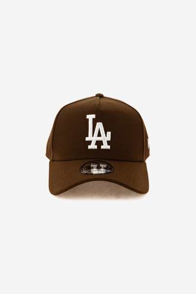 New Era Los Angeles Dodgers 940 A-Frame Snapback Chocolate