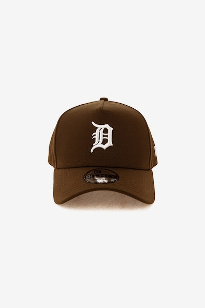 New Era Detroit Tigers 940 A-Frame Snapback Chocolate