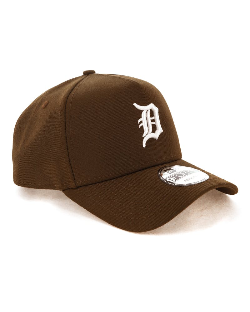 New Era Detroit Tigers 9FORTY A-Frame Snapback Chocolate