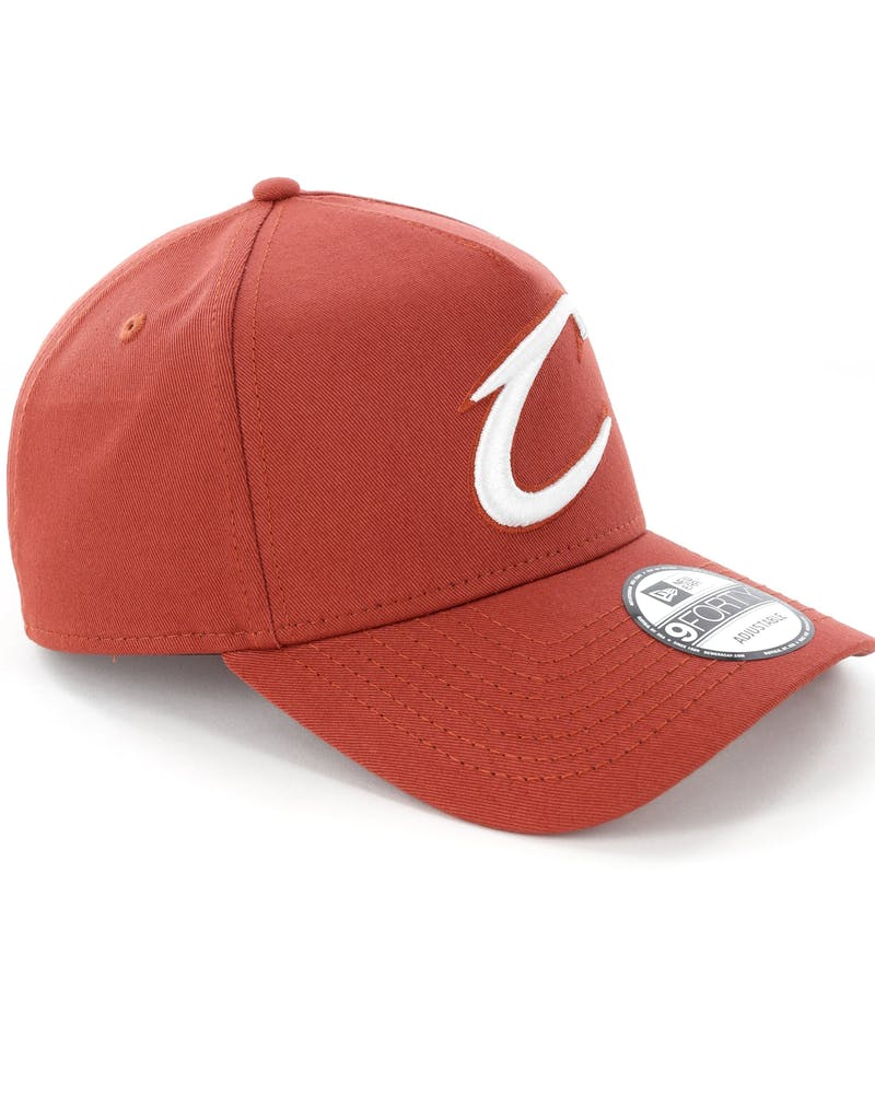 New Era Cleveland Cavaliers 9FORTY A-Frame Snapback Chilli