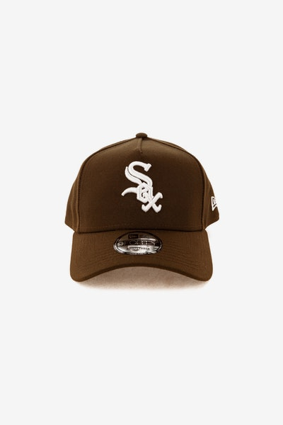 New Era Chicago White Sox 940 A-Frame Snapback Chocolate