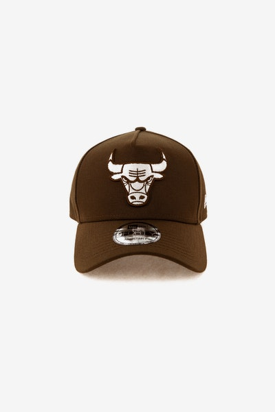 New Era Chicago Bulls 940 A-Frame Snapback Chocolate