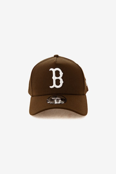 New Era Boston Red Sox 940 A-Frame Snapback Chocolate