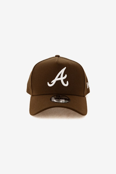 New Era Atlanta Braves 940 A-Frame Snapback Chocolate