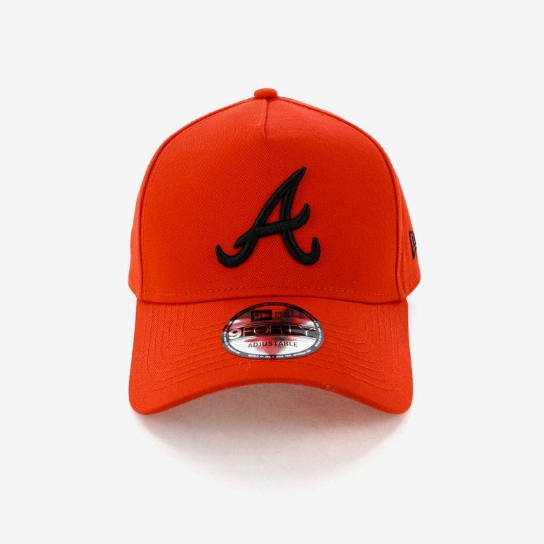 New Era Atlanta Braves CK 940 A-Frame Snapback Cherry/Black ...