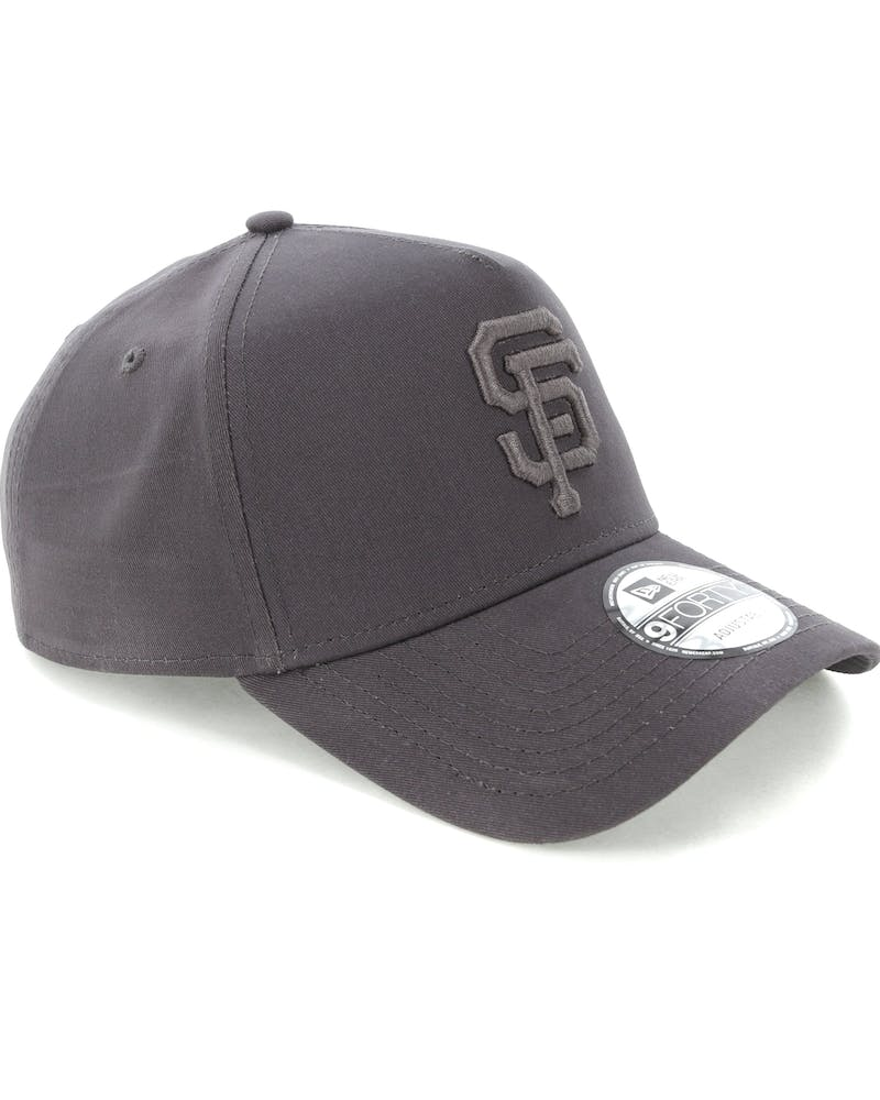 New Era San Francisco Giants 9FORTY A-Frame Snapback Iron Gate