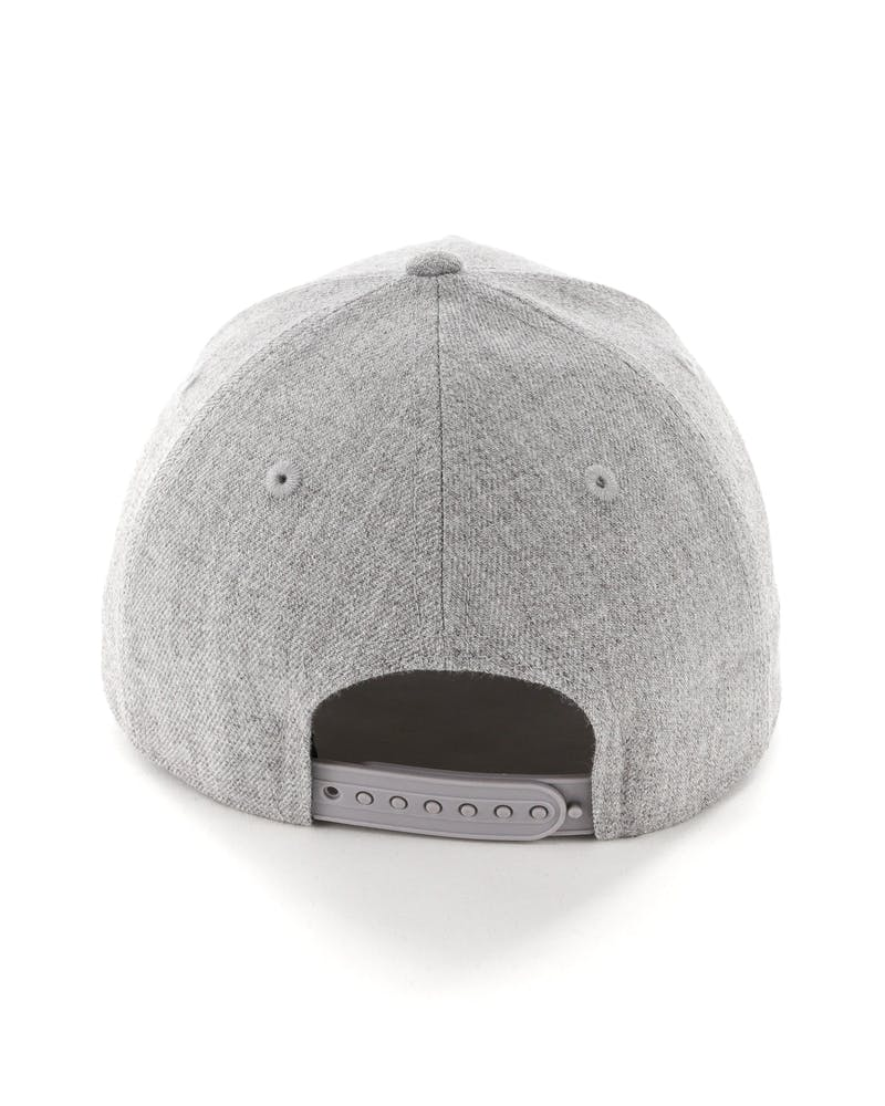 New Era San Francisco Giants 9FORTY A-Frame Snapback Heather Grey/Red