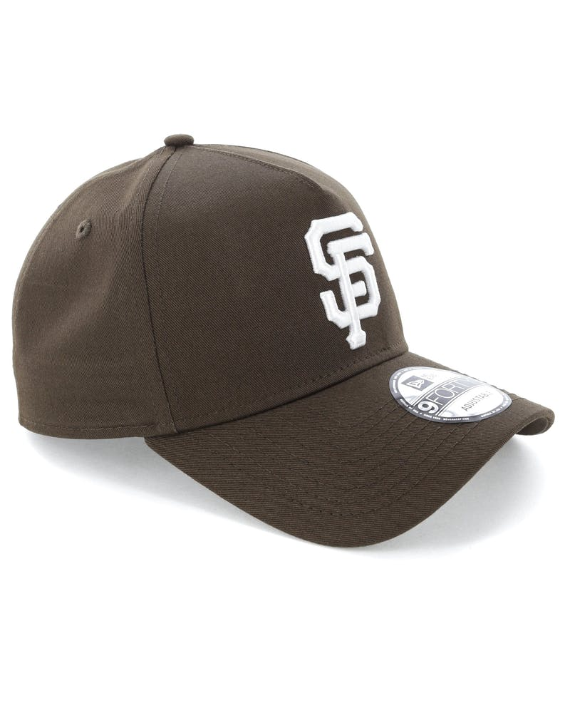 New Era San Francisco Giants 9FORTY A-Frame Snapback Chestnut