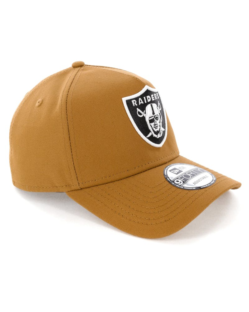 New Era Raiders 9FORTY A-Frame Snapback Chipmunk