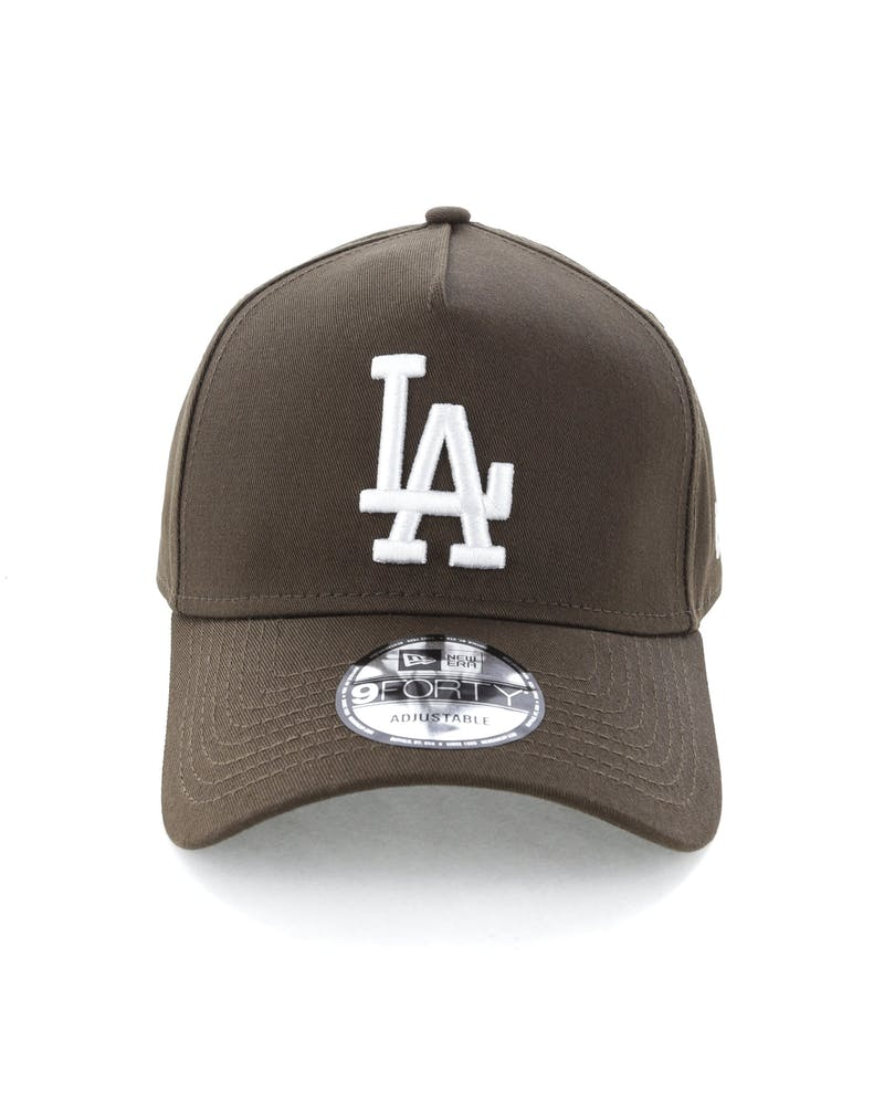 New Era Los Angeles Dodgers 9FORTY A-Frame Snapback Chestnut