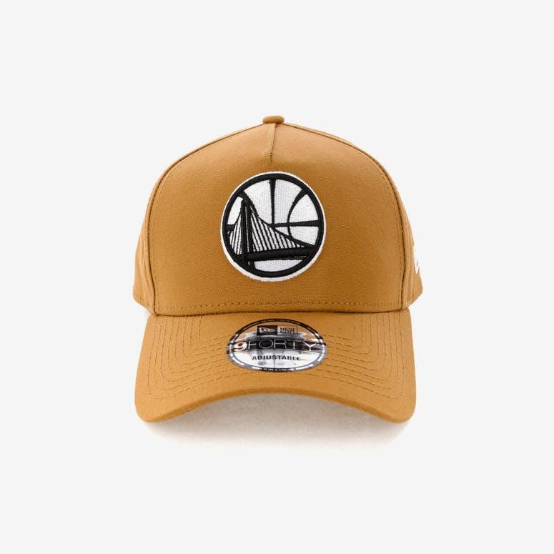 New Era Golden State Warriors 9forty A Frame Snapback Chipmunk