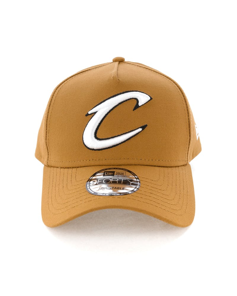 New Era Cleveland Cavaliers 9FORTY A-Frame Snapback Chipmunk