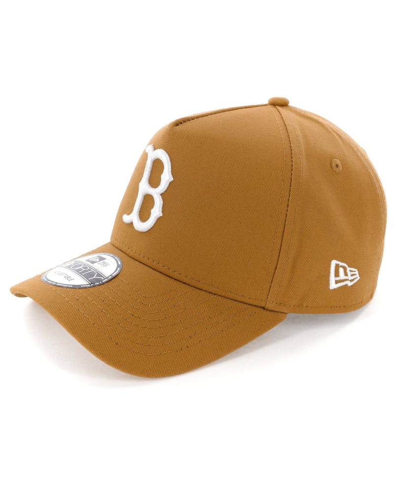 New Era Boston Red Sox 9FORTY A-Frame Snapback Chipmunk