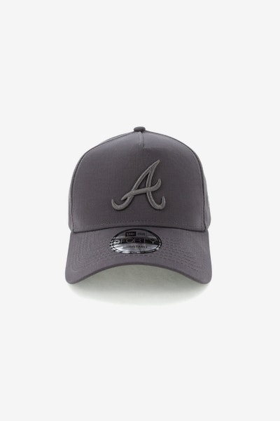 New Era Atlanta Braves 940 A-Frame Snapback Iron Gate