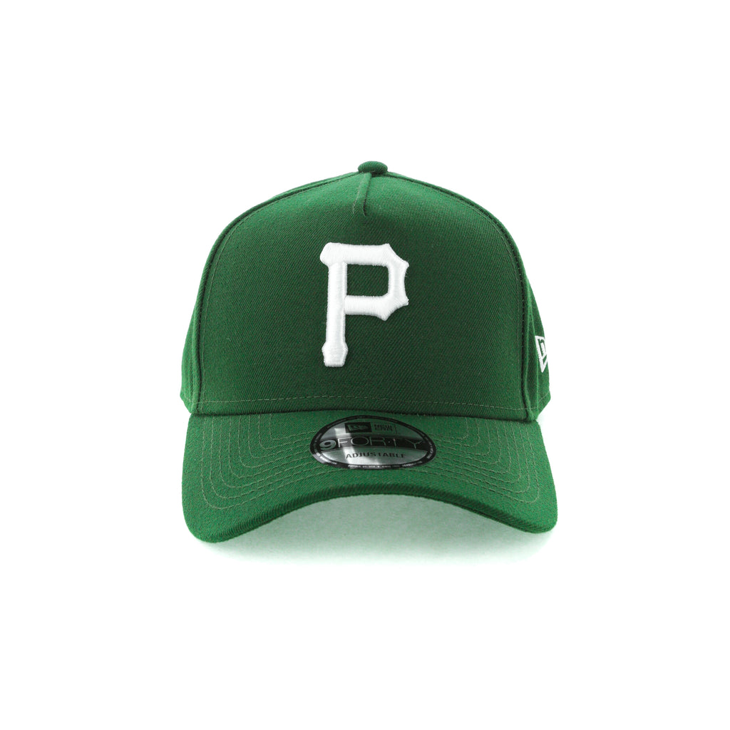 hot sales f35b5 e0575 ... new era pittsburgh pirates 9forty a frame snapback eden green