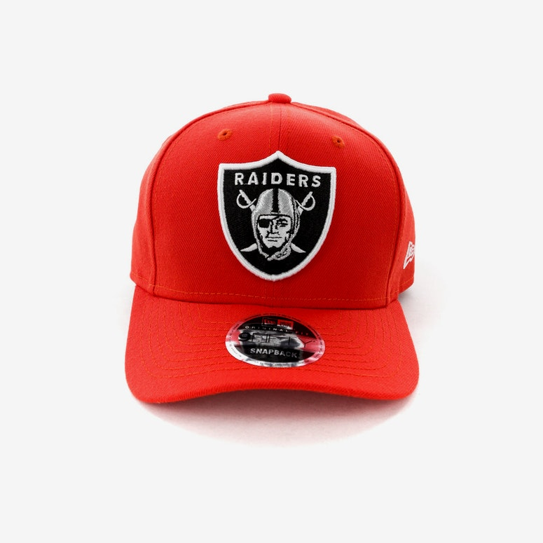 New Era Raiders 950 Original Fit Precurve Hot Red