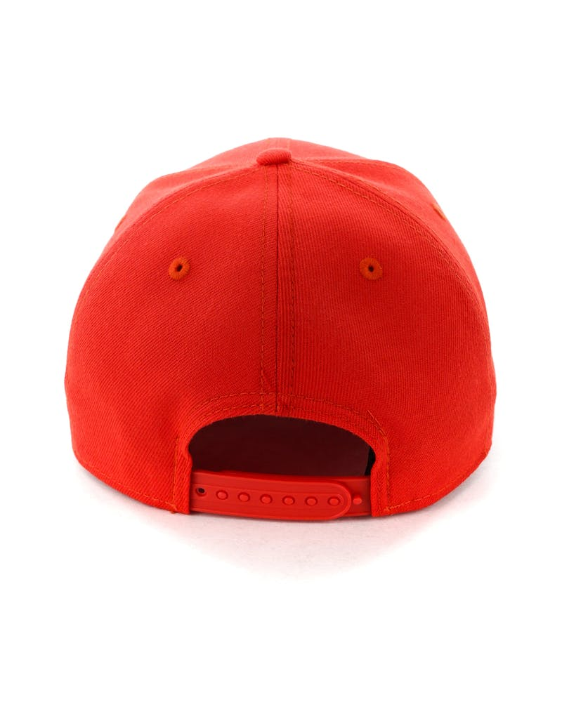 New Era Raiders 9FIFTY Original Fit Precurve Hot Red