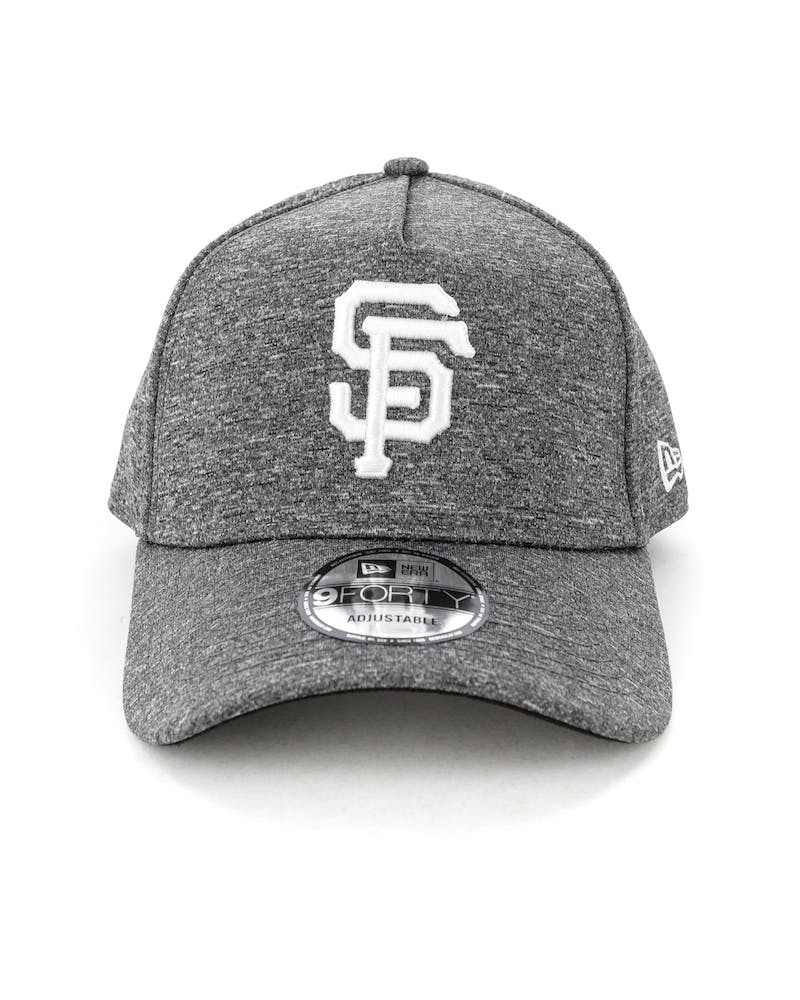 New Era San Francisco Giants 9FORTY A-Frame Melange Snapback Dark Grey/White