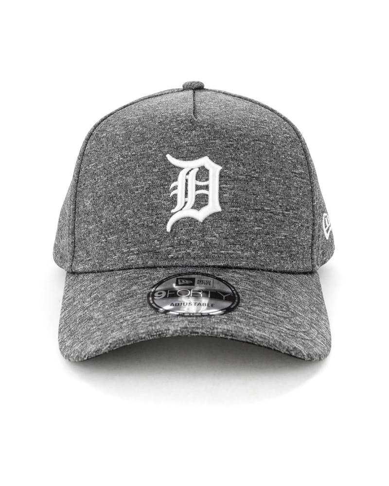 New Era Detroit Tigers 9FORTY A-Frame Melange Snapback Dark Grey/White