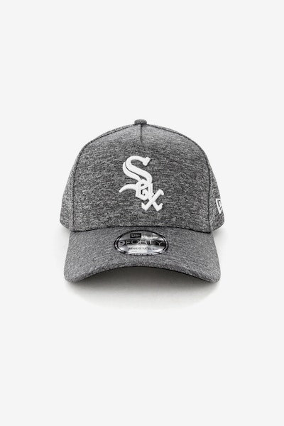 New Era Chicago White Sox 940 A-Frame Melange Snapback Dark Grey/White