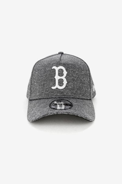 New Era Boston Red Sox 940 A-Frame Melange Snapback Dark Grey/White