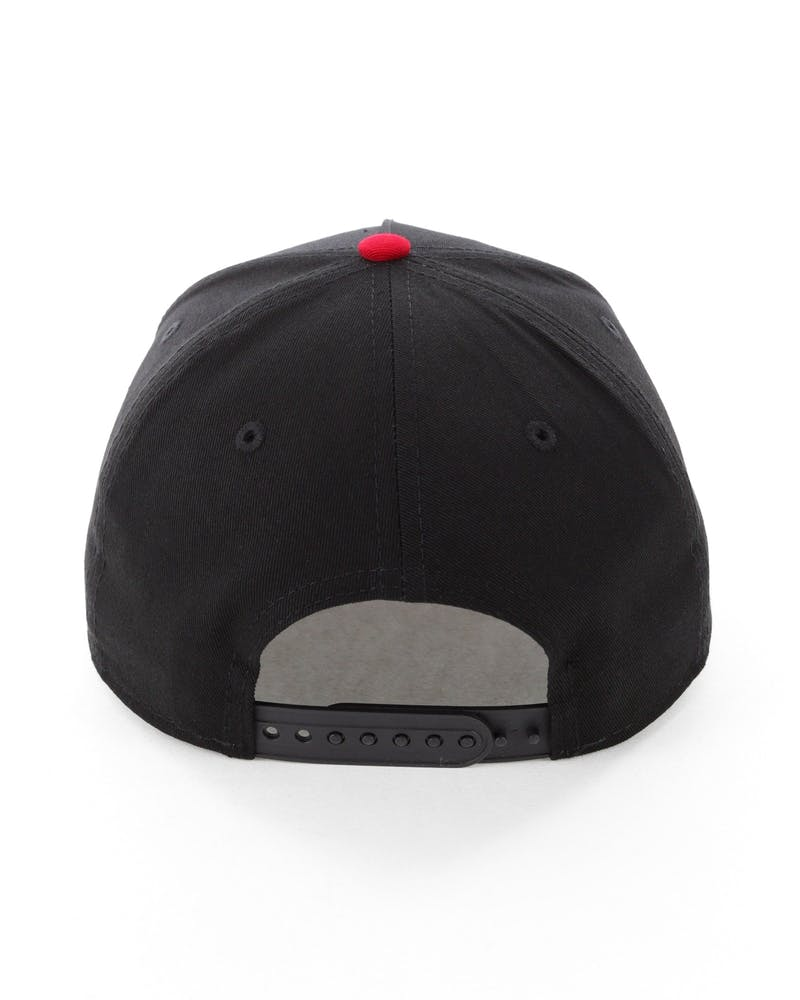 New Era Pittsburgh Pirates 9FORTY A-Frame Snapback Black/Green/Red