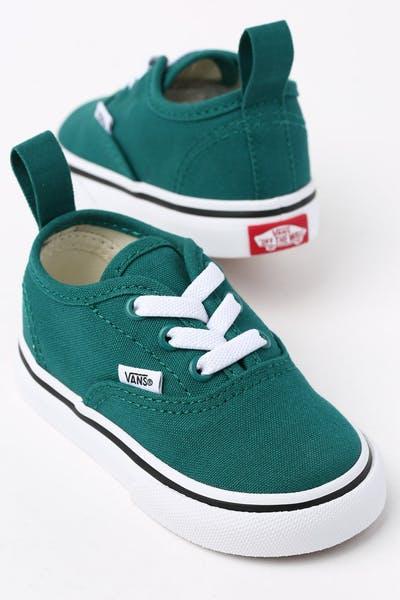 73e9e90d2d Vans Toddler Authentic (Elastic) Green White