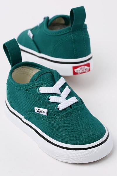 e585406625d3 Vans Toddler Authentic (Elastic) Green White