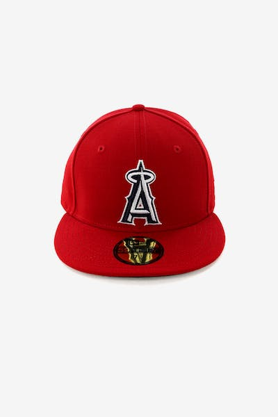 New Era Los Angeles Angels 59FIFTY Fitted Scarlet/Navy