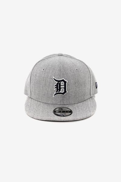New Era Youth Detroit Tigers 9FIFTY Snapback Heather Grey