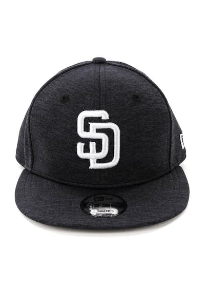 New Era Youth San Diego Padres 9FIFTY Snapback Shadow Tech Navy