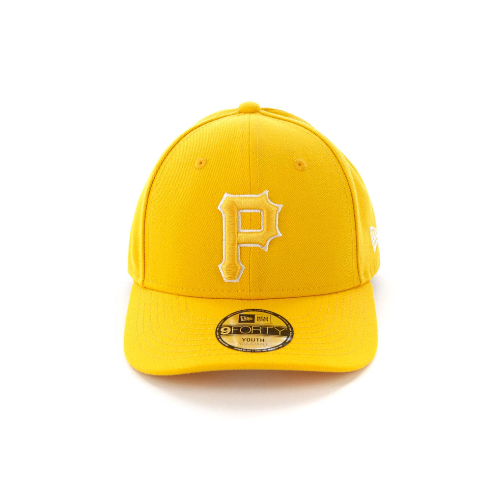best website 143e1 44120 ... hat camo  new era youth pittsburgh pirates 9forty hooklp gold